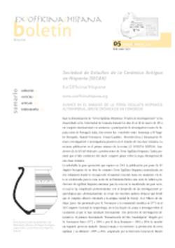 Boletín SECAH 05