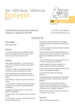 Boletín de la SECAH nº9