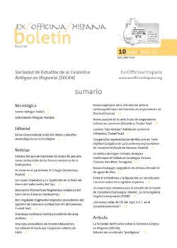 Boletín SECAH 10